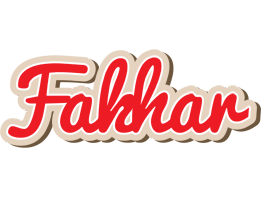 Fakhar chocolate logo