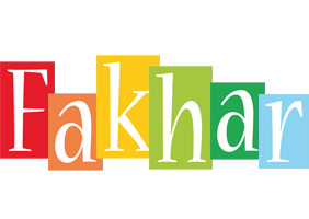 Fakhar colors logo