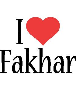 Fakhar i-love logo