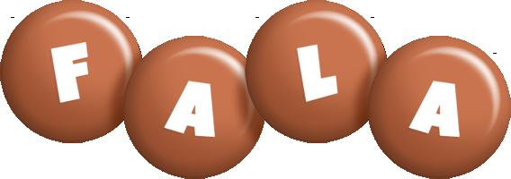 Fala candy-brown logo