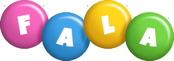 Fala candy logo