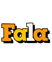 Fala cartoon logo
