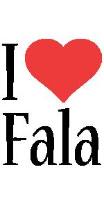Fala i-love logo