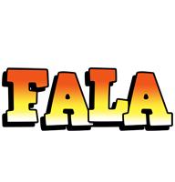 Fala sunset logo
