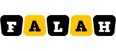 Falah boots logo