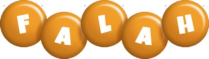 Falah candy-orange logo
