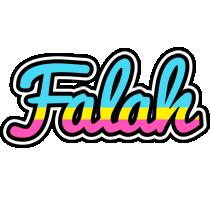 Falah circus logo