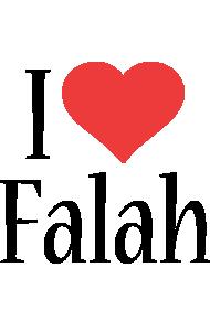 Falah i-love logo