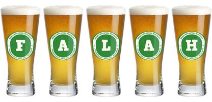 Falah lager logo