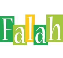 Falah lemonade logo
