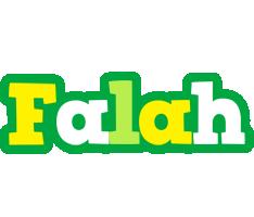 Falah soccer logo