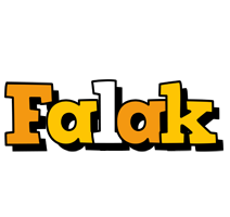 Falak cartoon logo