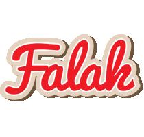 Falak chocolate logo