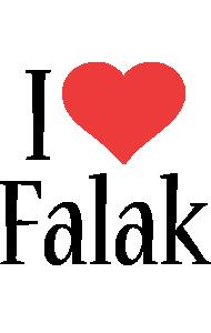 Falak i-love logo