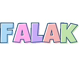 Falak pastel logo