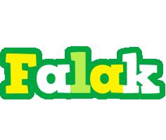 Falak soccer logo