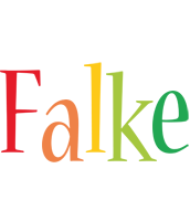 Falke birthday logo