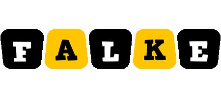 Falke boots logo