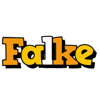 Falke cartoon logo