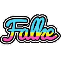 Falke circus logo