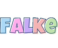 Falke pastel logo