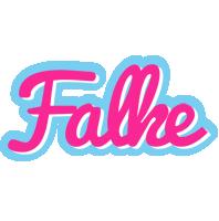 Falke popstar logo