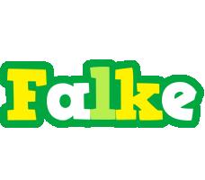 Falke soccer logo