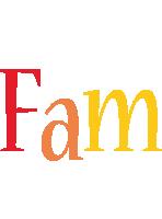Fam birthday logo