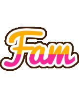 Fam smoothie logo