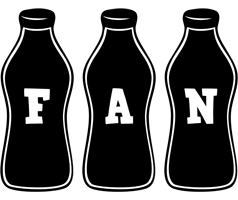 Fan bottle logo