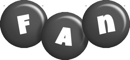 Fan candy-black logo