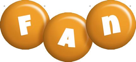Fan candy-orange logo