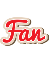 Fan chocolate logo
