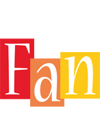 Fan colors logo