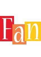 Fan colors logo