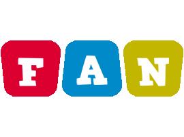 Fan daycare logo