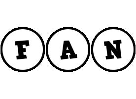 Fan handy logo