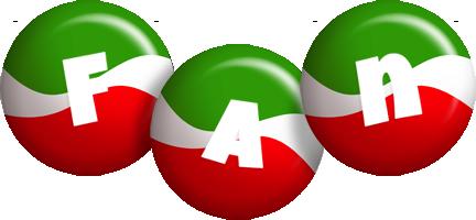 Fan italy logo