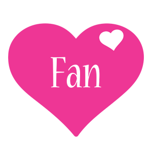 Fan love-heart logo