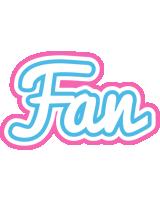 Fan outdoors logo