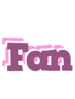 Fan relaxing logo