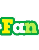 Fan soccer logo