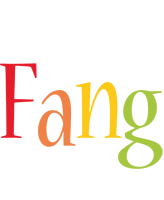 Fang birthday logo