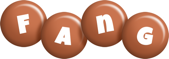 Fang candy-brown logo