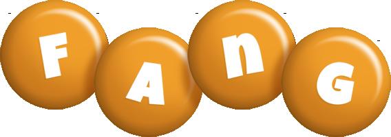 Fang candy-orange logo