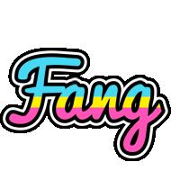 Fang circus logo