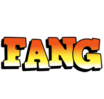 Fang sunset logo