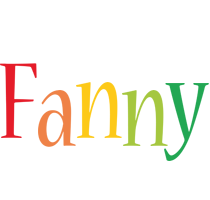 Fanny birthday logo