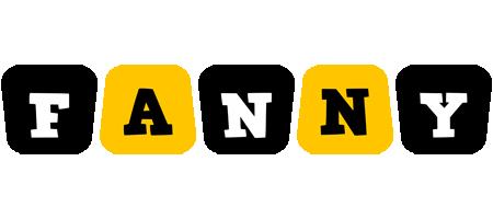Fanny boots logo