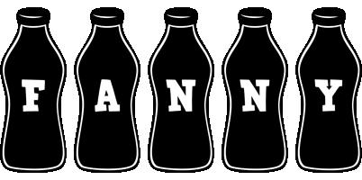Fanny bottle logo